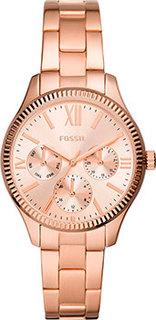 fashion наручные женские часы Fossil BQ3691. Коллекция Rye