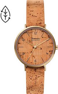 Швейцарские наручные женские часы Skagen SKW2974. Коллекция Aaren Naturals