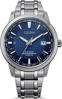 Японские наручные мужские часы Citizen CB0190-84L. Коллекция Radio Controlled