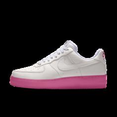 Женские кроссовки с индивидуальным дизайном Nike Air Force 1 Low By You - Розовый