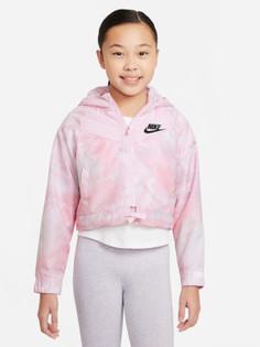 Ветровка для девочек Nike Sportswear Windrunner, размер 137-146