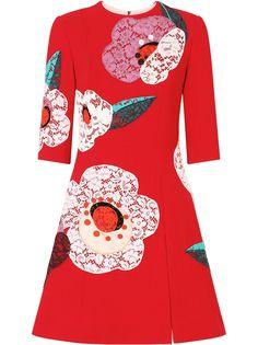 Dolce & Gabbana расклешенное платье с цветочным принтом