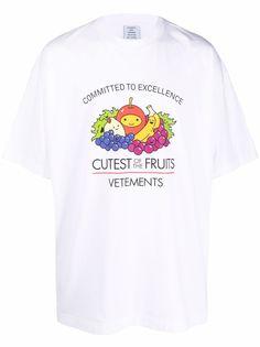 VETEMENTS футболка с графичным принтом