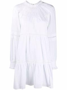 Michael Michael Kors платье-рубашка с воротником-воронкой