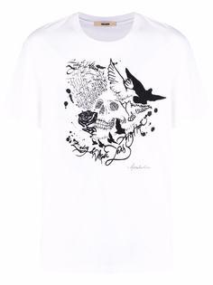 Zadig&Voltaire футболка Ted с принтом