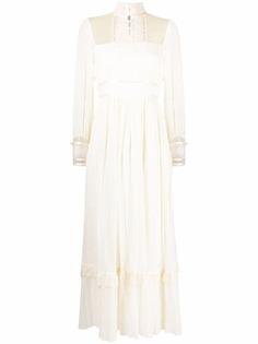 A.N.G.E.L.O. Vintage Cult длинное платье 1970-х годов с кружевом