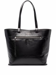 DKNY сумка-тоут с эффектом кракле