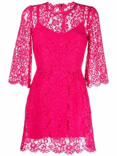 Dolce & Gabbana кружевное коктейльное платье
