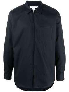 Comme Des Garçons Shirt куртка-рубашка на молнии