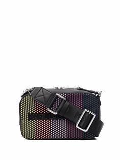 Karl Lagerfeld каркасная сумка в горох