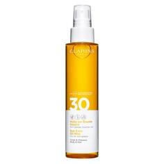 Huile-en-Brume Solaire Солнцезащитное масло-спрей для тела и волос SPF30 Clarins