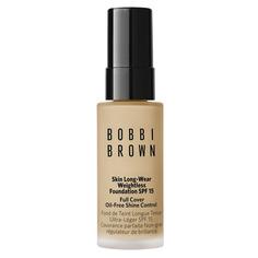 Skin Long-Wear Weightless Foundation Mini Устойчивое тональное средство в мини-формате SPF15 Warn Natural Bobbi Brown