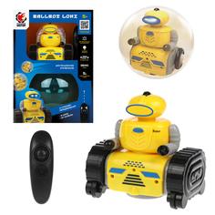 Робот Пламенный мотор BallBot Loki, передвижение в шаре и на колесах (желтый)