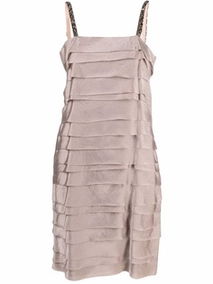 LANVIN Pre-Owned многослойное платье 2017-го года