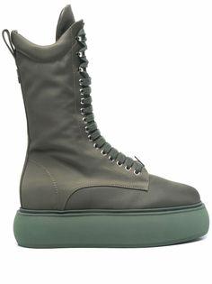 The Attico ботинки Selene на платформе