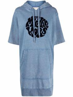 Michael Michael Kors платье-худи с логотипом