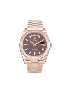 Rolex наручные часы Day-Date pre-owned 40 мм 2021-го года