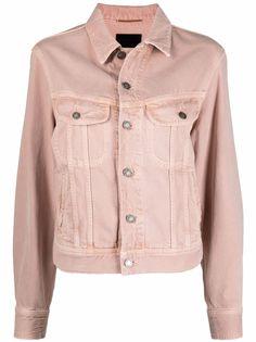 Saint Laurent джинсовая куртка Ozone