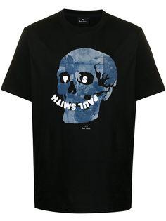 PS Paul Smith футболка с принтом