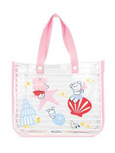 Familiar пляжная сумка с принтом