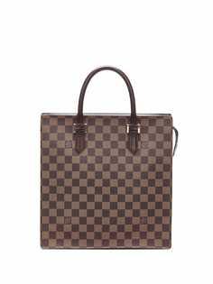 Louis Vuitton сумка-тоут Damier Ebène Venice Sac Plat 2005-го года