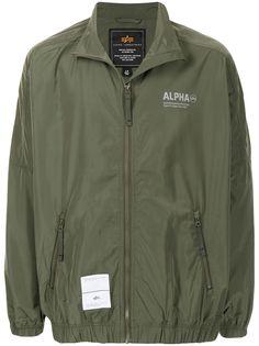 Alpha Industries ветровка с логотипом