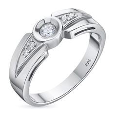 Кольцо из золота с бриллиантами э0901кц03081600 ЭПЛ Якутские Бриллианты