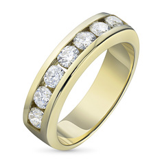 Кольцо из золота с бриллиантами э0301кц07153400 ЭПЛ Якутские Бриллианты