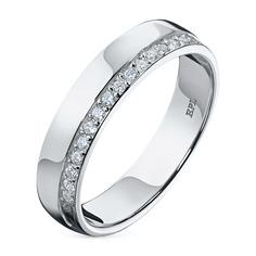 Кольцо из золота с бриллиантами э0901кц04162900 ЭПЛ Якутские Бриллианты