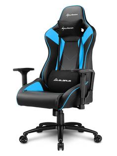 Компьютерное кресло Sharkoon Elbrus 3 Black-Blue