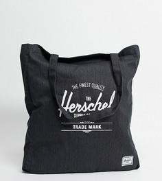 Эксклюзивная черная сумка-тоут Herschel Supply Co-Черный