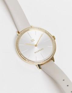 Часы в минималистичном стиле Tommy Hilfiger Kelly-Серый
