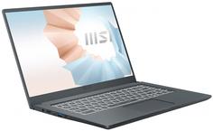 Ноутбук MSI Modern 15 A4M-020XRU (серый)
