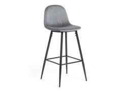 Барный стул nilson (la forma) серый 47x101x48 см.