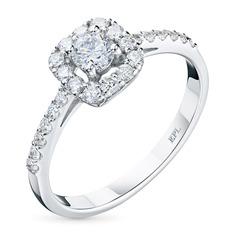 Кольцо из золота с бриллиантами э0901кц12200951 ЭПЛ Якутские Бриллианты