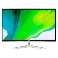 "Моноблок ACER Aspire C22-1650, 21.5"", Intel Core i3 1115G4, 4ГБ, 1000ГБ, Intel UHD Graphics, Windows 10, серебристый [dq.bg7er.007]"
