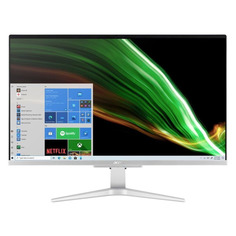 "Моноблок ACER Aspire C27-1655, 27"", Intel Core i7 1165G7, 8ГБ, 512ГБ SSD, NVIDIA GeForce MX330, Windows 10, серебристый [dq.bgfer.001]"