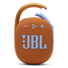 Портативная колонка JBL Clip 4, 5Вт, оранжевый [jblclip4org]