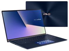 Ноутбук ASUS Zenbook 14 UX434FQ-A5037T Royal Blue 90NB0RM5-M01490 Выгодный набор + серт. 200Р!!! (Intel Core i7-10510U 1.8GHz/16384Mb/1024Gb SSD/nVidia GeForce MX350 2048Mb/Wi-Fi/Bluetooth/Cam/14.0/1920x1080/Windows 10)