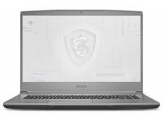 Ноутбук MSI WF65 10TH-1097RU 9S7-16R324-1097 (Intel Core i7 10750H 2.6Ghz/16384Mb/1000Gb HHD + 256Gb SSD/nvidia Quadro P620 4096Mb/Wi-Fi/Bluetooth/Cam/15.6/1920x1080/Windows 10 Pro 64-bit)