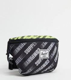 Эксклюзивная черная сумка с ремешком через плечо Herschel Supply Co. Fourteen-Черный