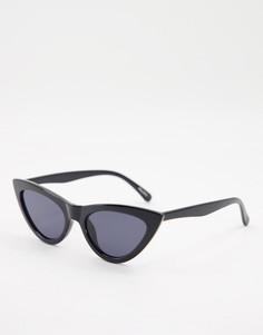 Черные солнцезащитные очки «кошачий глаз» ALDO Vorewen-Черный цвет