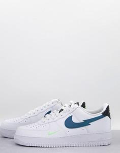 Белые кроссовки Nike Air Force 1 EC21-Белый