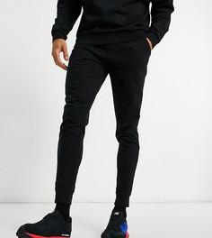 Черные легкие джоггеры скинни ASOS DESIGN-Черный цвет