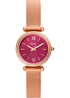 fashion наручные женские часы Fossil ES5011. Коллекция Carlie Mini
