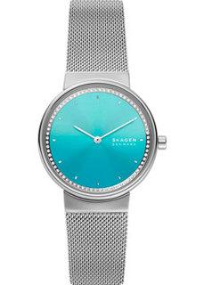 Швейцарские наручные женские часы Skagen SKW2983. Коллекция Mesh