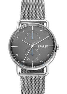 Швейцарские наручные мужские часы Skagen SKW6737. Коллекция Mesh