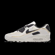 Мужские кроссовки с индивидуальным дизайном Nike Air Max 90 Unlocked By You - Белый