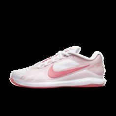 Женские теннисные кроссовки для игры на грунтовых кортах NikeCourt Air Zoom Vapor Pro - Белый