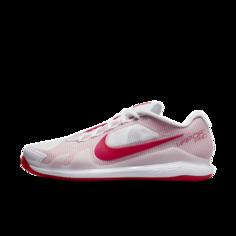 Мужские теннисные кроссовки для игры на грунтовых кортах NikeCourt Air Zoom Vapor Pro - Белый